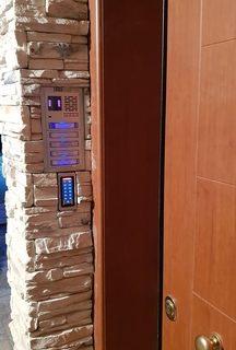 σύστημα ελέγχου εισόδου για άνοιγμα με κωδικό και κάρτα
